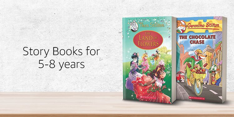 Story books for 5-8 years