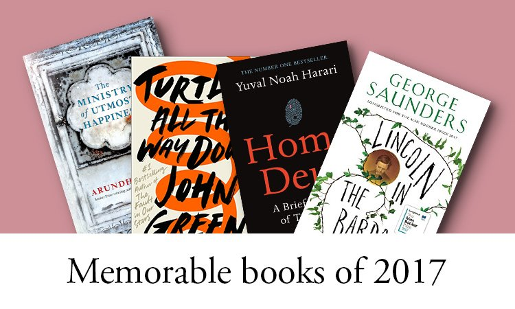 Memorable books of 2017