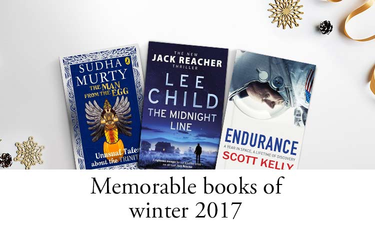 Memorable books of winter 2017