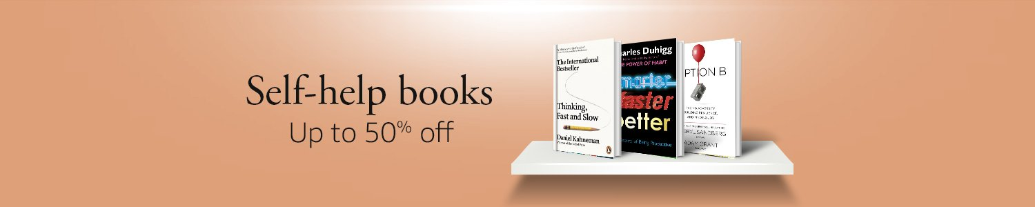 UP TO 50% OFF: Popular self-help books