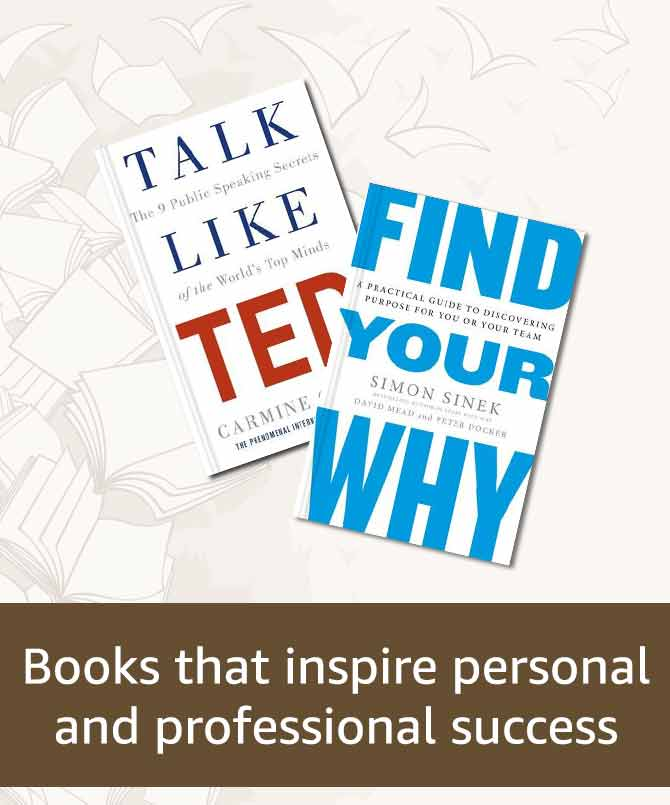 Books that inspire personal and professional success