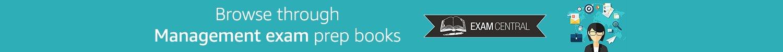 Browse through Management exam prep books