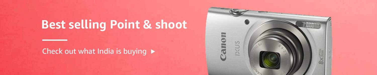 Best selling Point and Shoot cameras