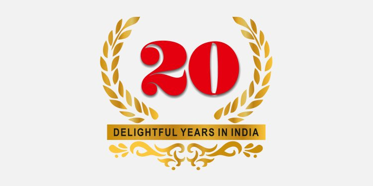 20 delightful years in India