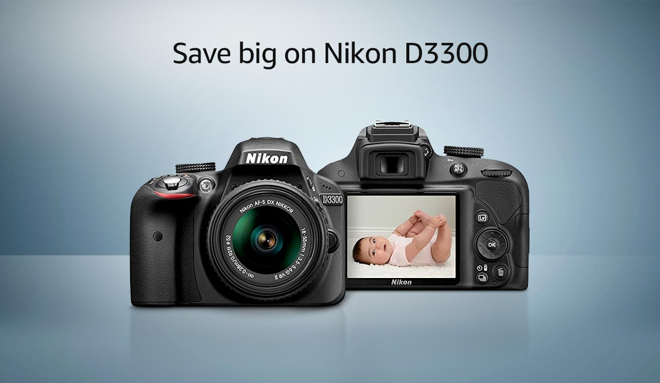 Save big on Nikon D3300