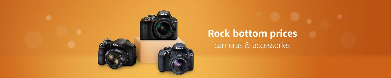 Rock Bottom Prices on Cameras