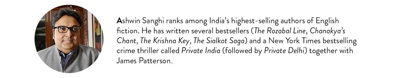 Ashwin Sanghi Bio