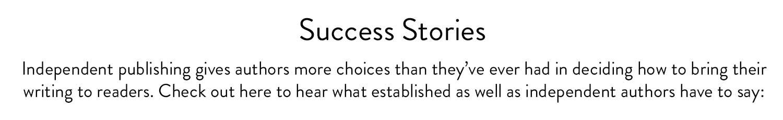 KDP Success Stories