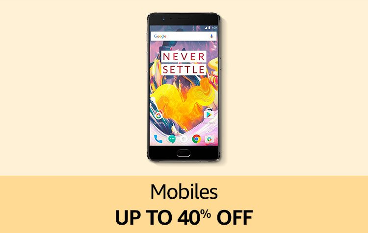 Mobiles Up to 40%