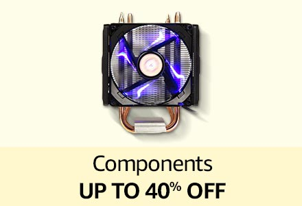 Components up to 40% off