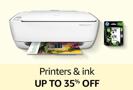 Printers & ink up to 35% off