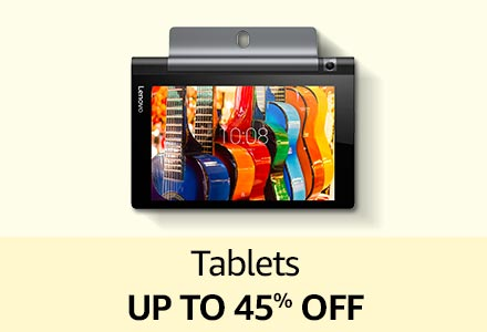 Tablets up to 45% off