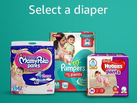 Select a diaper