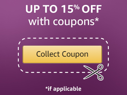 Up to 15% off with coupons