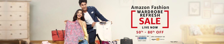 Amazon Fashion Wardrobe Sale