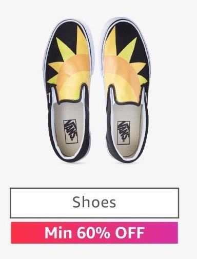 Shoes: Min 60% off