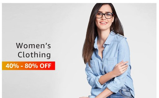 Womens clothing 40% - 80% off