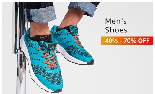Men's shoes 40% - 70% off