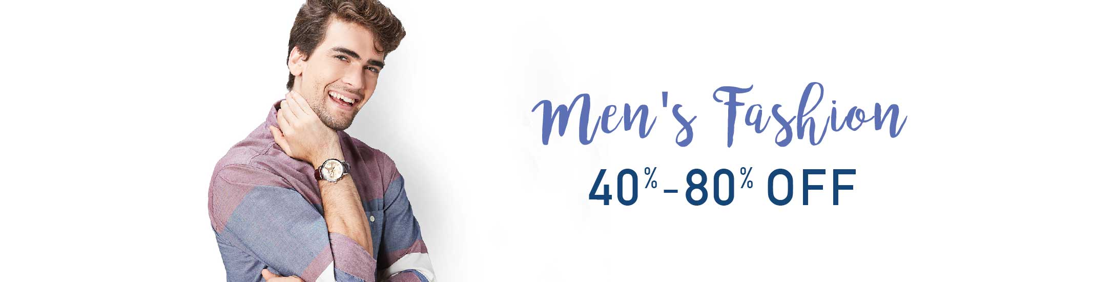 Great Indian Festival: Upto 80% Off on Men's Fashion + Extra 10% Off on SBI Bank Debit & Credit Cards (29th Sept - 4th Oct)