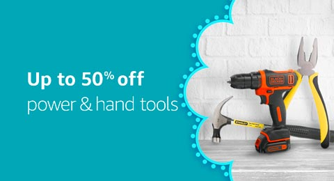 Up to 50% off Power and hand tools