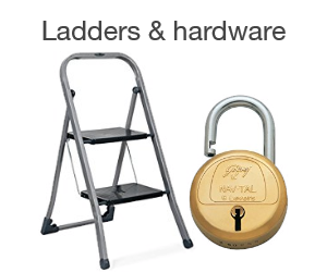 Ladders & hardware