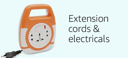 Extension cords & Electricals