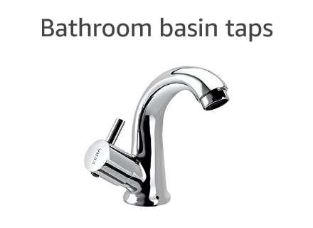 Bathroom basin taps