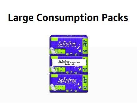 Large consumption packs
