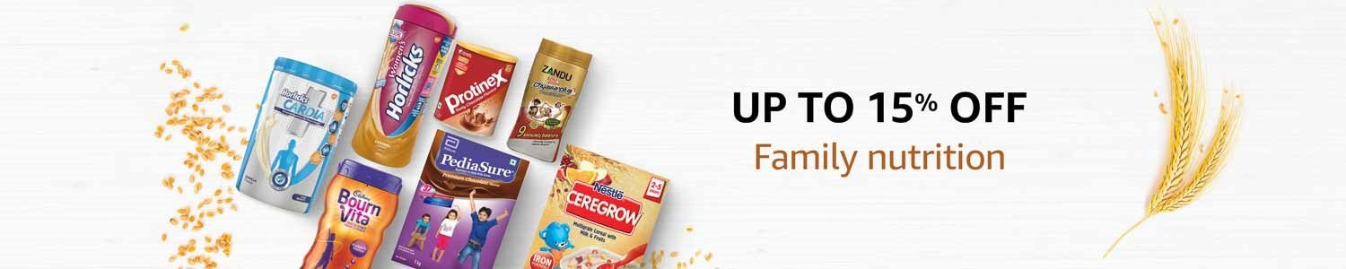 Up to 15% off family nutrition
