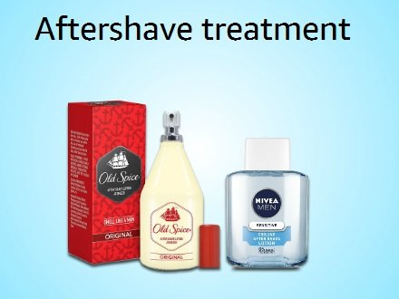 Aftershave treatment