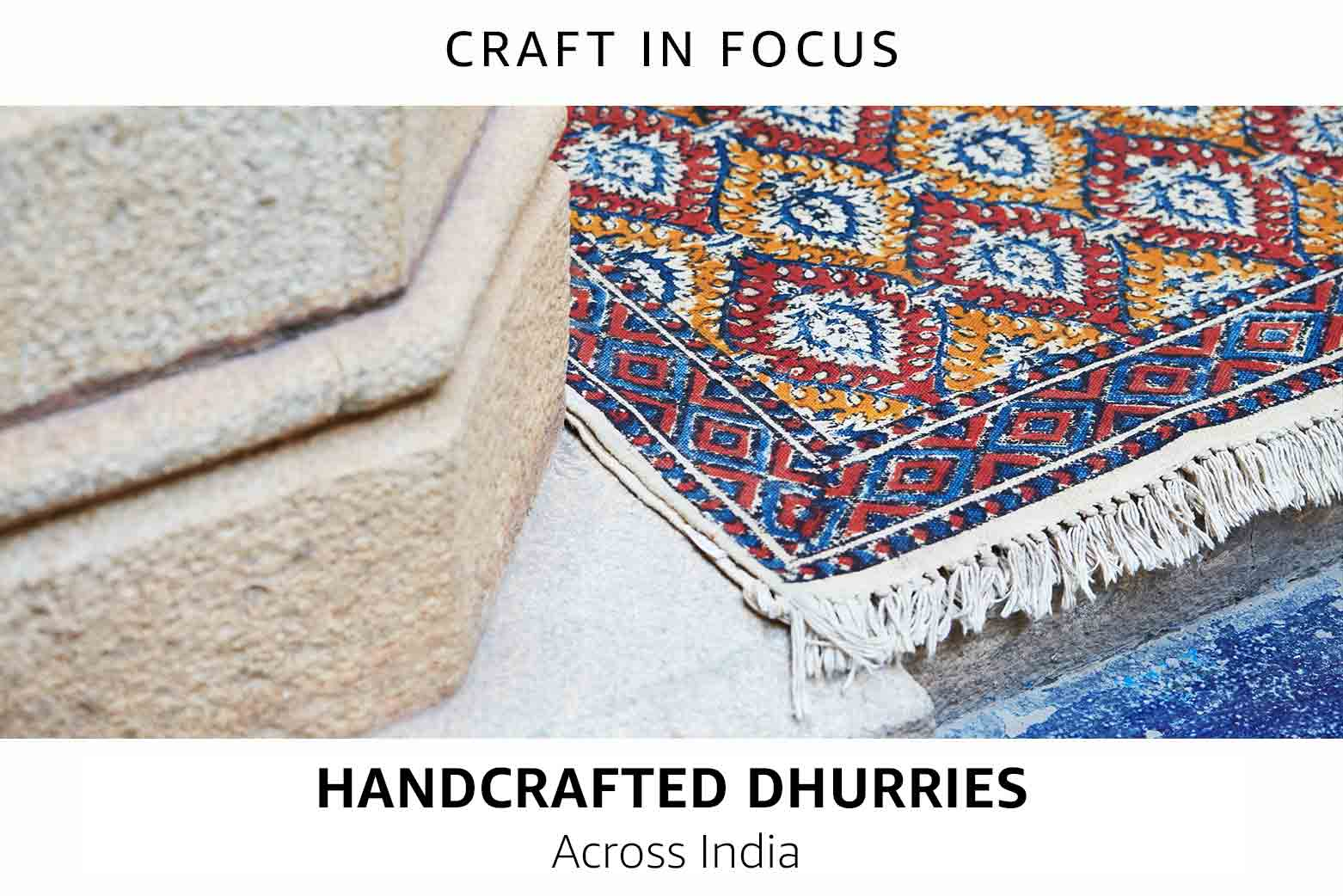 Handcrafted Dhurries