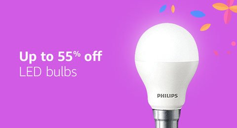 Up to 55% off LED