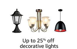 Up to 25% off decorative lights