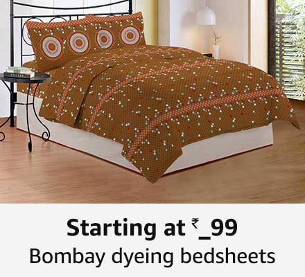 Starting at 499 Bombay dyeing bedsheets