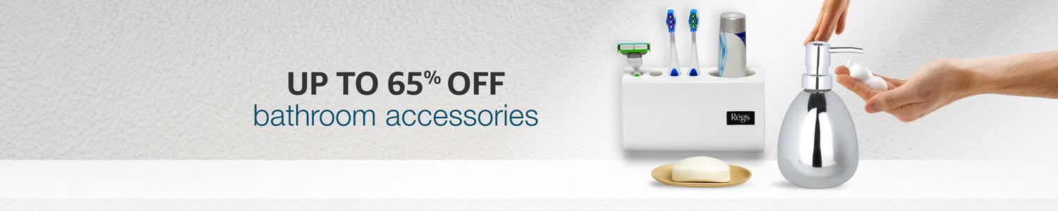 65% off on Bathroom Accessories