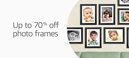 Up to 70% off photo frames