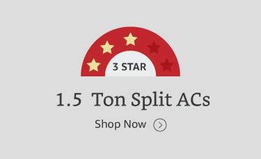 1.5 ton 3 star