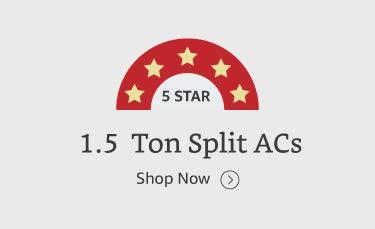 1.5 ton 5 star