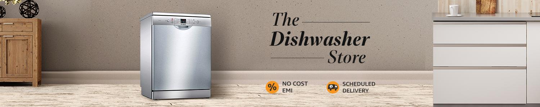 Dishwasher header