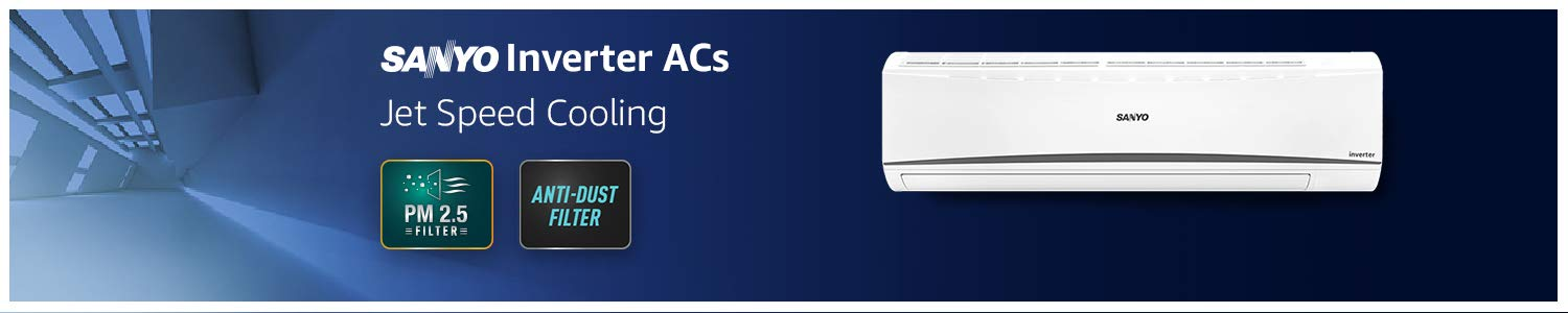 Air Conditioners : Sanyo : Prime Eligible