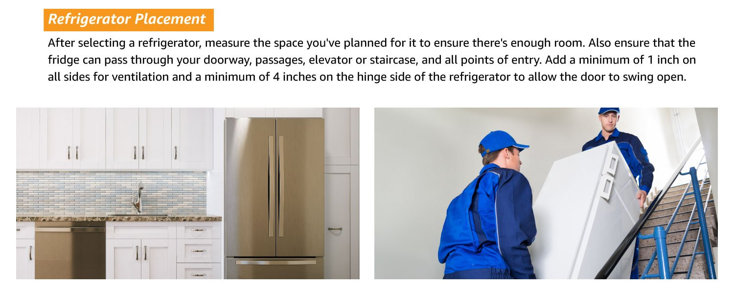 refrigerator placement