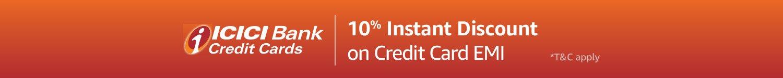 10 % instant discount