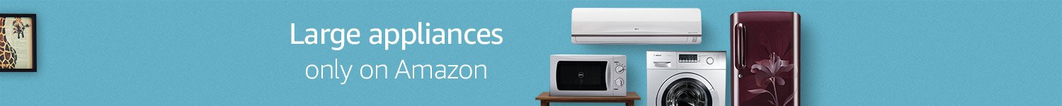 home appliances only on amazon