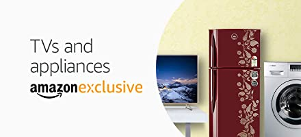 TVs and appliances only on amazon