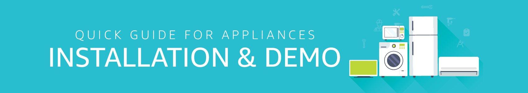 Appliances Installation & Demo