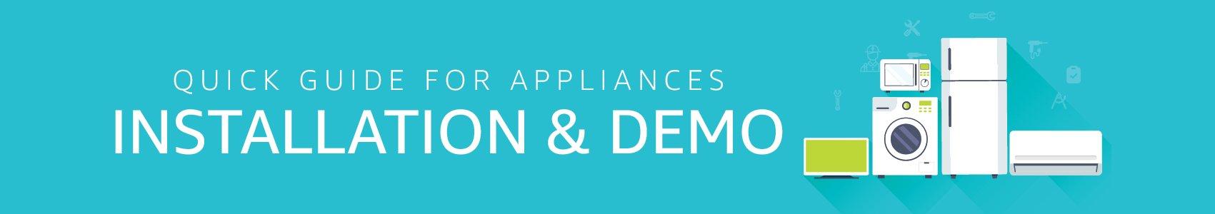 Appliances Installation & Demo