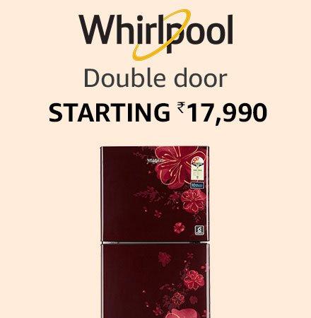 whirlpool double door