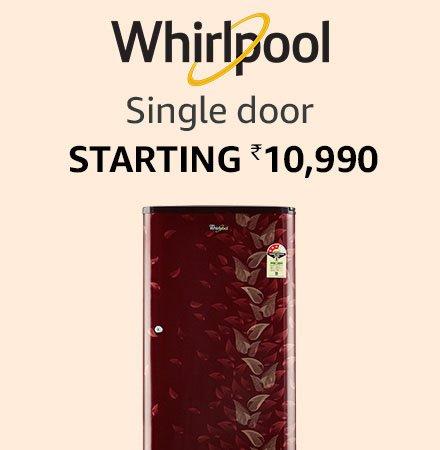whirlpool single door