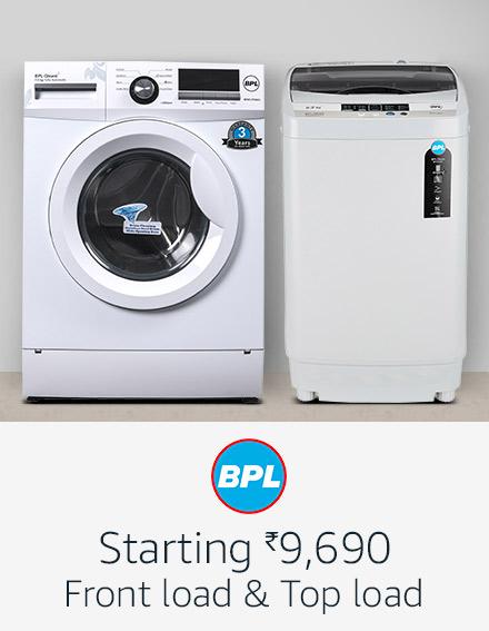 BPL washing machines