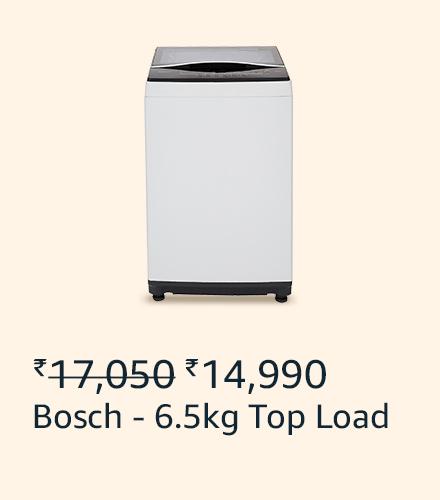Bosch 6.5 kg top load